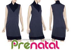 Утепленное платье безрукавка для беременных Prenatal Италия