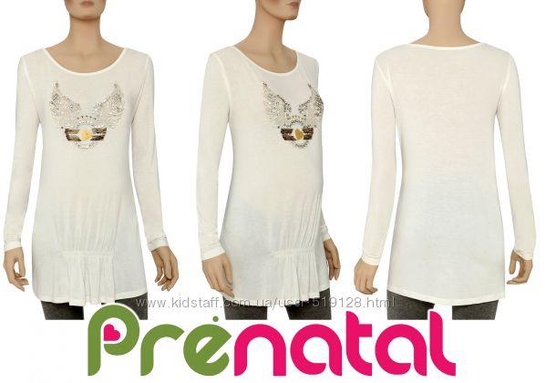 Туника для беременных со стразами фирмы Prental Италия