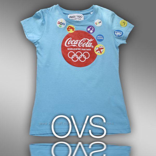 Футболки для девочек 8-9 лет OVS Италия