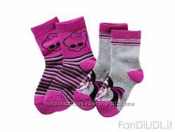 Носочки для детей 19-38 размер LUPILU Монстрики, Monster High, Hello Kitty