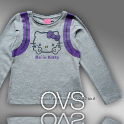 Регланы Hello Kitty, Frozen для девочек 2-3 года фирмы OVS Италия