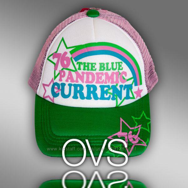 Красочные бейсболки с сеткой для девочек фирмы OVS Италия