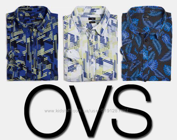 Рубашка мужская Slim Fit JeansWear 72D S, M, L, XL, XXL фирмы OVS Италия