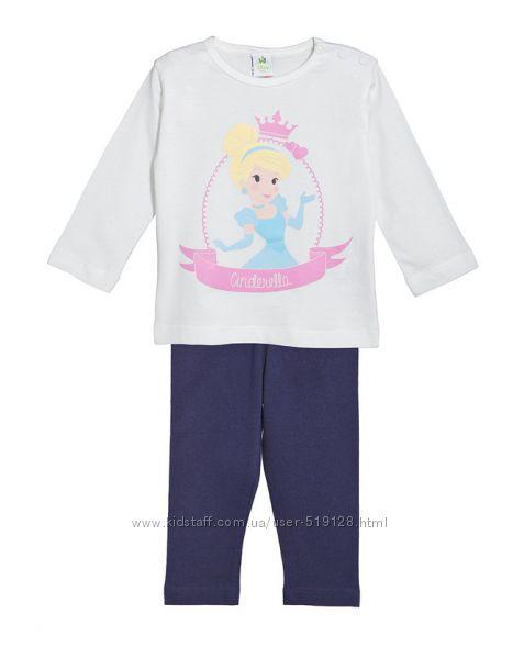 Хлопковые пижамы для девочек 9-24 месяца фирмы Prenatal Италия