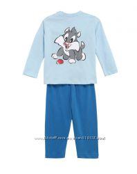 Хлопковые пижамы для мальчиков 9-12 месяцев фирмы Prenatal Италия