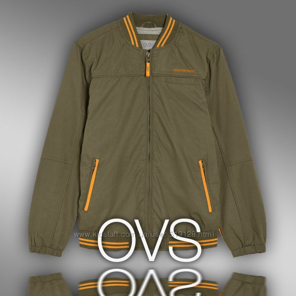 Демисезонная курточка для подростков 13-14 лет фирмы OVS Италия