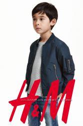 Стильная куртка бомбер для малыша 1. 5-2 года фирмы H&M Швеция