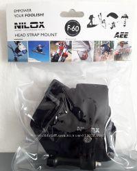 Крепление для экшн-камер на голову фирмы NILOX Италия