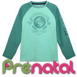 Модный мятный реглан для мальчиков 3-4 года фирмы Prenatal Италия