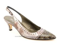 Полностью кожаные итальянские туфли Renzo Fontanelli 24, 5 см