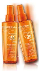 Биодерма Фотодерм Бронз - стимулирует загар и защищает спф 30 и 50 в спрее