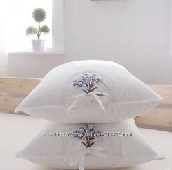 Подушки с шелком, с бамбуком, с лавандой
