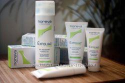 Noreva Exfoliac крем, маска, скраб для жирной и проблемной кожи