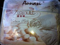 Одеяла с шелком все размеры в сатине