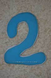 цифра 2 для фотосессии   на день рождения