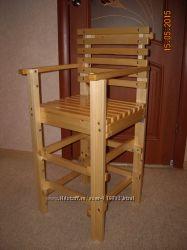 Стул для ребенка под высоту обеденного стола