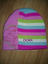 Dora от DISNEY тёпла шапуля в идеальном состоянии