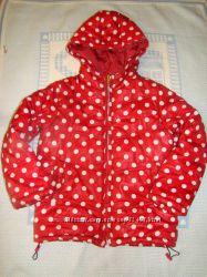 Яркая демисезонная куртка для девочки Zara Kids, р. 128