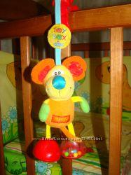 Мягкая игрушка-подвеска Playgro Toy box Мышка Мимси