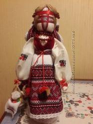 Лялька-мотанка подарунок до Пасхи