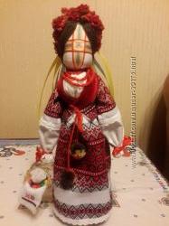 Лялька-мотанка Молодиця Василина 42 см