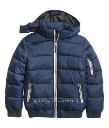 Теплая  курточка,  H&M р 134
