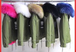 Шикарные зимние парки Люкс класса Ms & Mr Furs под заказ и естьналичие