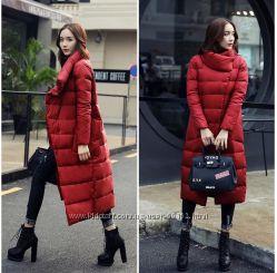 Стильный зимний пуховик пальто высокого качества Корея New 2016-2017