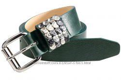 кожаный ремень Heine c металлическими клепками ручной работы Германия