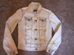 Стильная котоновая курточка Zara Xs-S