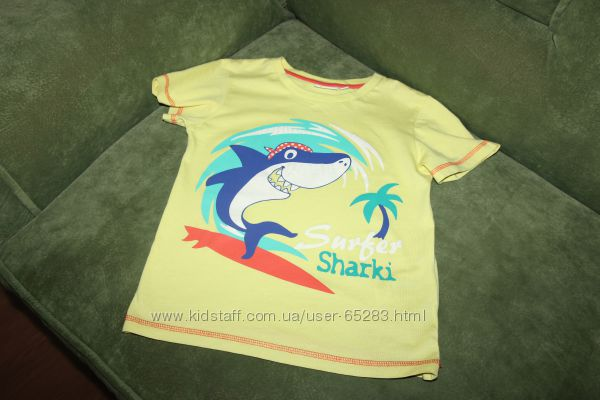 Фирменные футболки 116-122 см