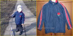 куртка ветро-водо не проницаемая на рост 110-116см