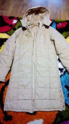 Плащ-пальто пуховик
