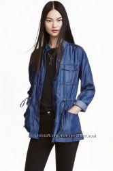 Новая куртка ветровка H&M. размеры XS и S