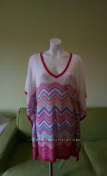 Роскошная летняя туника-платье от короля французского трикотажа. Size T1-T3