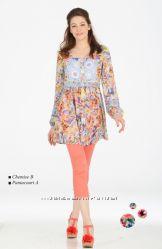 Распродажа. Роскошная дизайнерская туника-платье Одежда класса Люкс. France