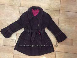 Стильное пальто DKNY для модняшки 3 года, как новое