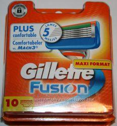 GILLETTE Fusion упаковка 10 штук оригинал немецкие для продажи в Германии