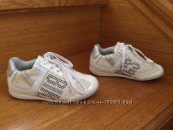 Белые ботиночки, мокасины, кеды Bikkembergs оригинал р. 27 на ножку до 16,