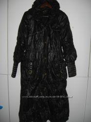 Зимнее брендовое пальто пуховик B-l editions Италия р. 46-48
