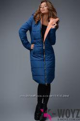 Зимняя куртка на тинсулейте р. 44-46, бесплатная отправка