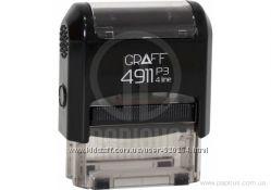Оснастка GRAFF 4911 P3 GLOSSY 38х14 мм, черная