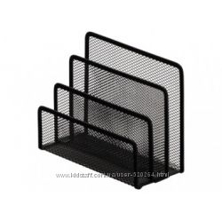 Металлическая подставка для писем и бумаг Optima O36319-01 85х175х140 мм,