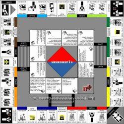 Настольная игра монополия Менеджер - S