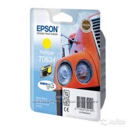 Картридж для принтера-МФУ Epson T0634 Yellow