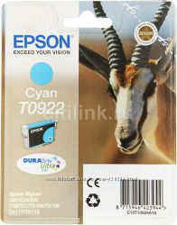 Картридж для принтера-МФУ Epson T0922 Cyan
