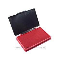 Штемпельная подушка Kores 27487 7х11, красная