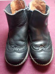 Кожанные ботиночки  bats
