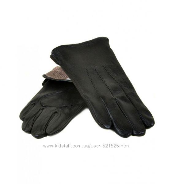Мужские перчатки, кожа, кашемир Flagman, Holms. Отзывы
