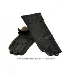 Женские перчатки, кожа, МариClassic